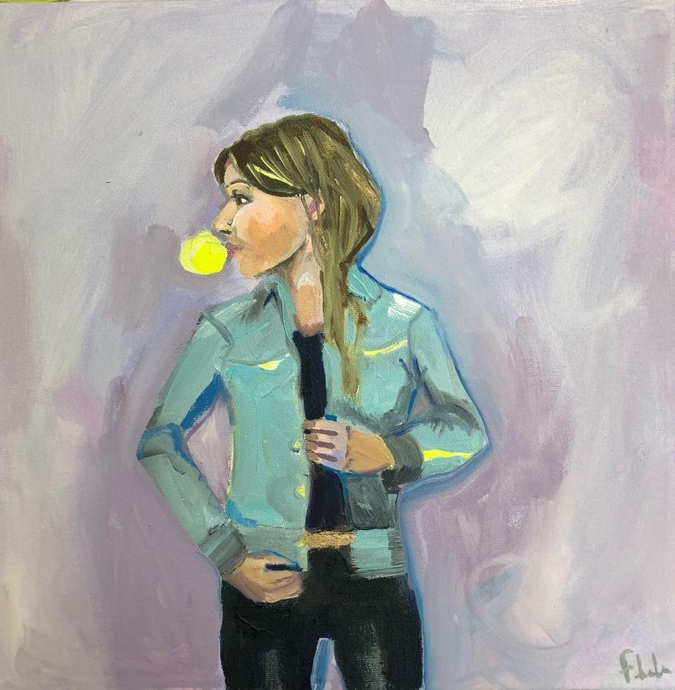 Bubblegum Riley  by Frances  Hahn