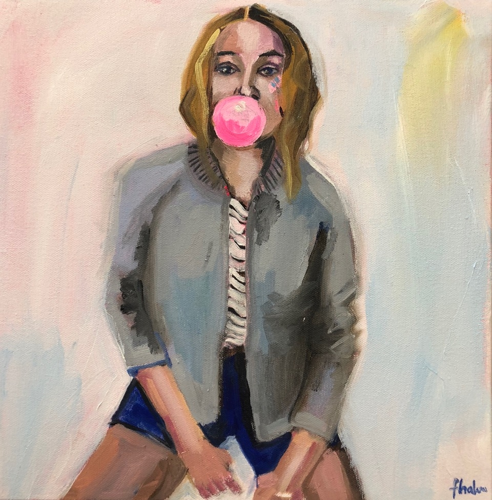 Bubblegum Bailey  by Frances  Hahn