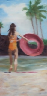 By The Pool #8 by Shannon  Dickie