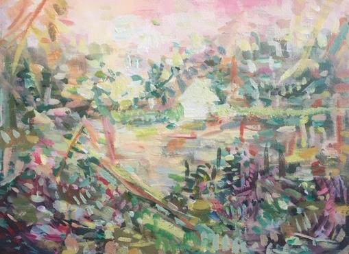 Through the Reeds #2 by Tamara Thompson
