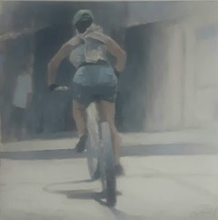 City of Cyclists 1 by Greg Nordoff