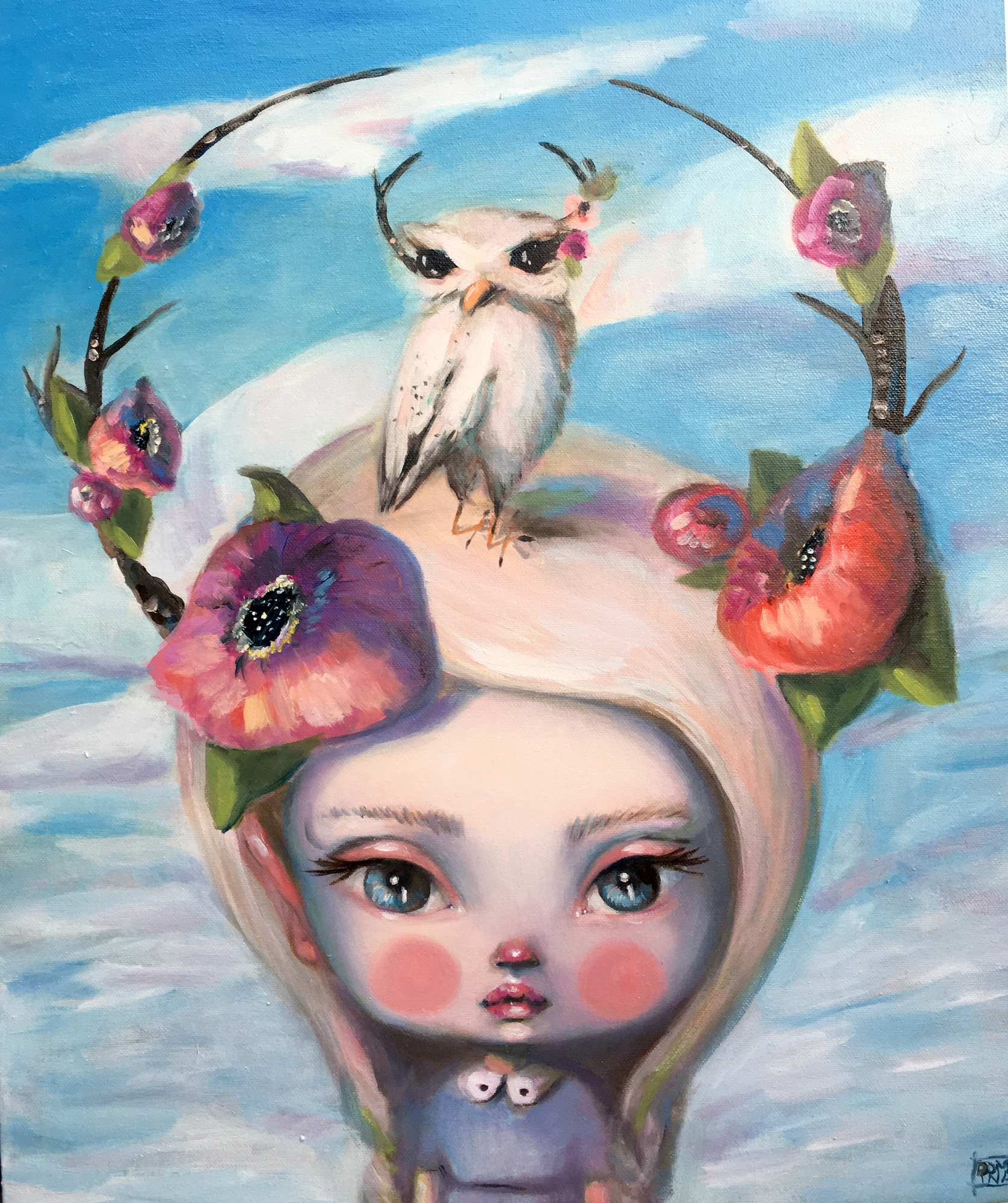 Wandering Doe  by Kate Domina