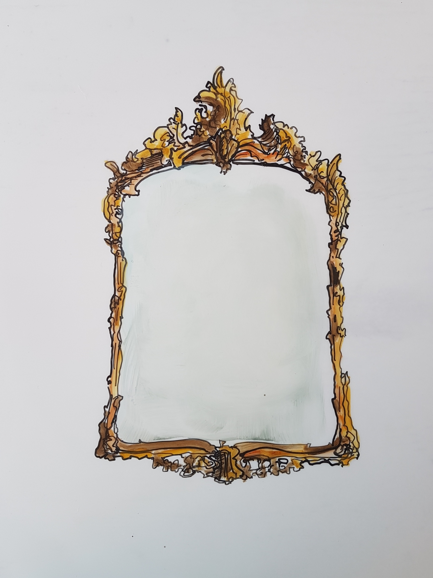 Antique Mirror 1 by Jennifer Wardle