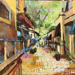 Masood Omer - Gallery Town Alley