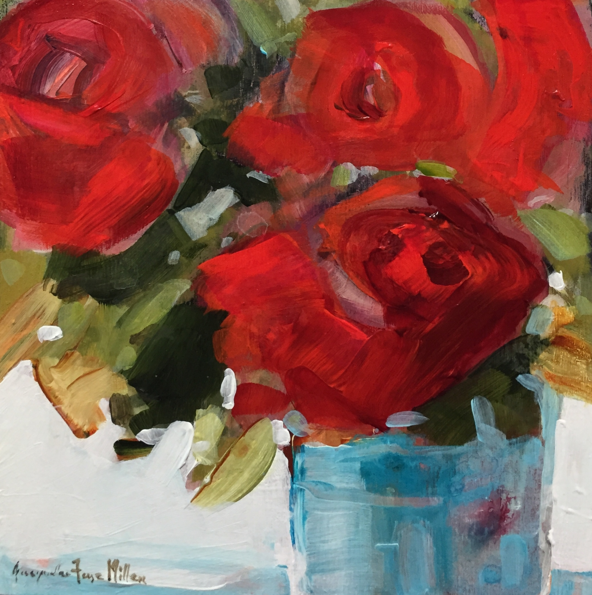 Country Rose  by Jackie  Miller