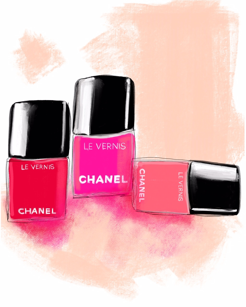 Chanel le Vernis Lacquer  by Annie  Naranian
