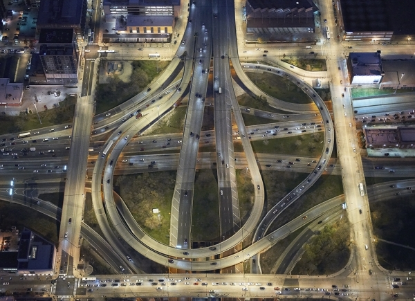 Interchanges: Chicago  by Peter Andrew