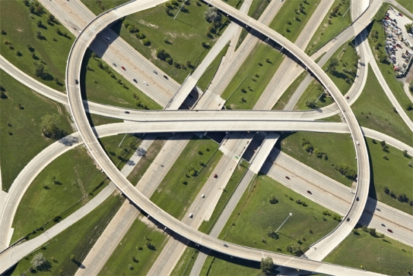 Interchanges: Detroit 1  by Peter Andrew