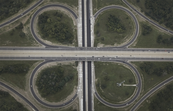 Interchanges: Detroit 2  by Peter Andrew