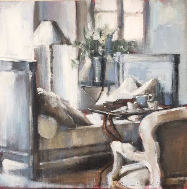 Room with the Day Bed  by Hanna Ruminski