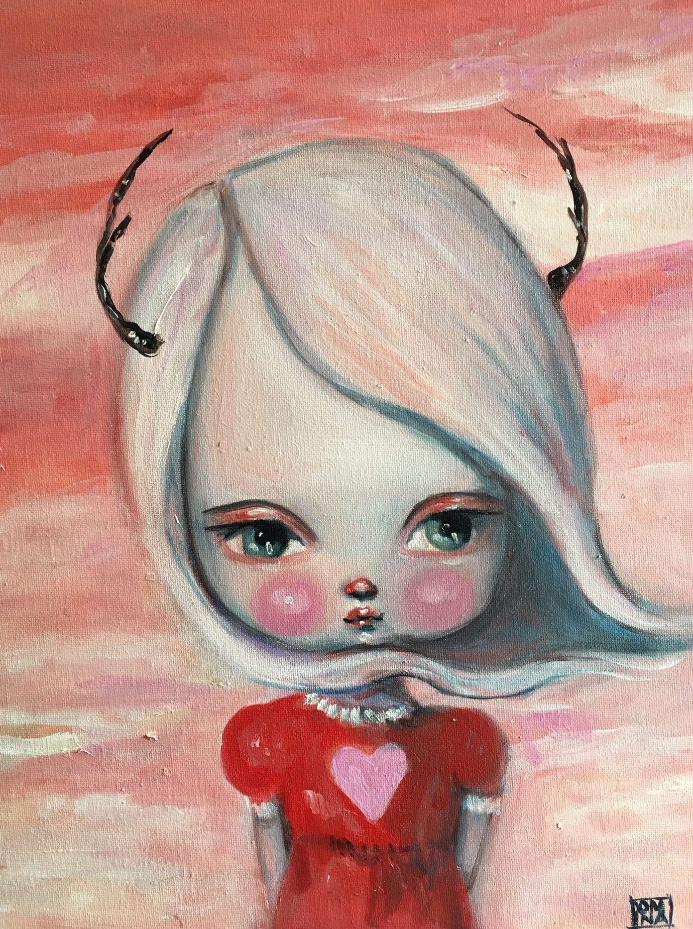 Pink Doe  by Kate Domina