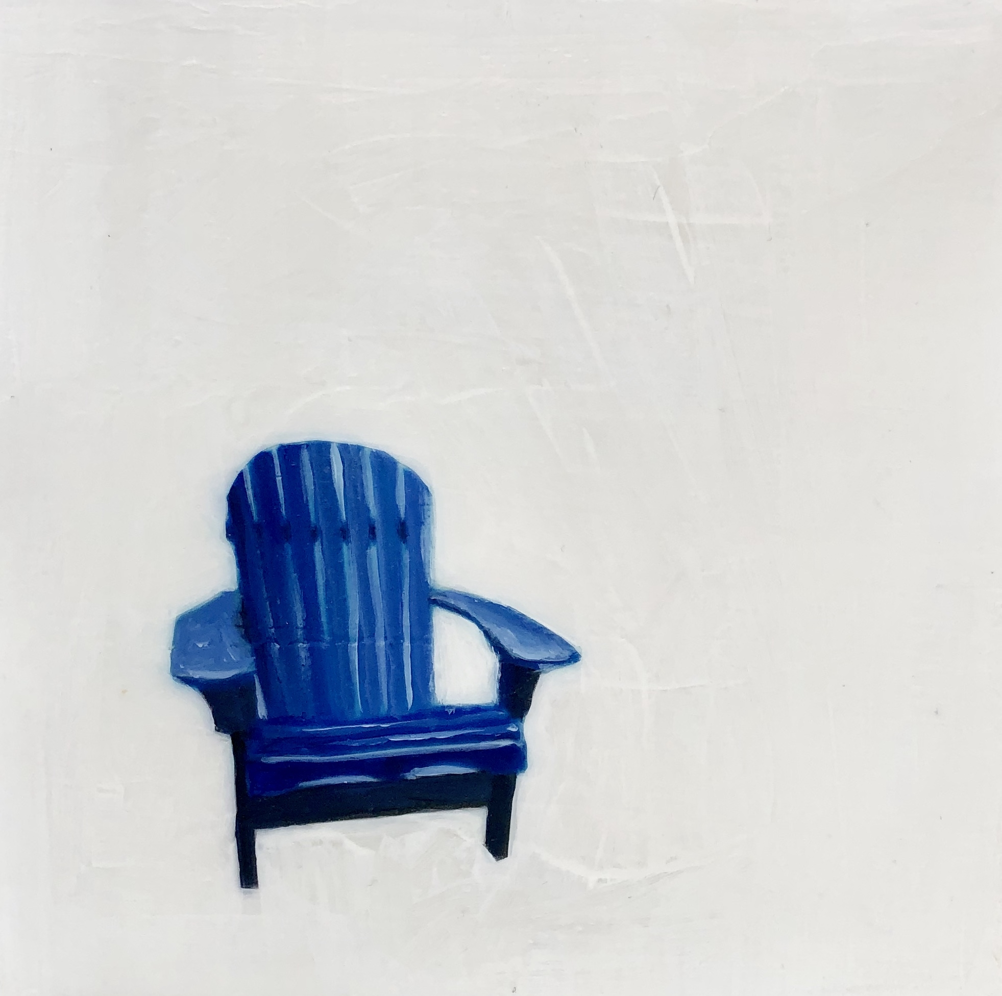 Blue Deck Chair  by EM Vincent