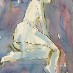 Mel Delija - Nude Derriere