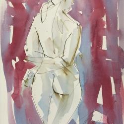 Mel Delija - Hands Crossed Nude