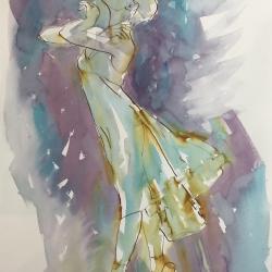 Mel Delija - Dancer on Point IV