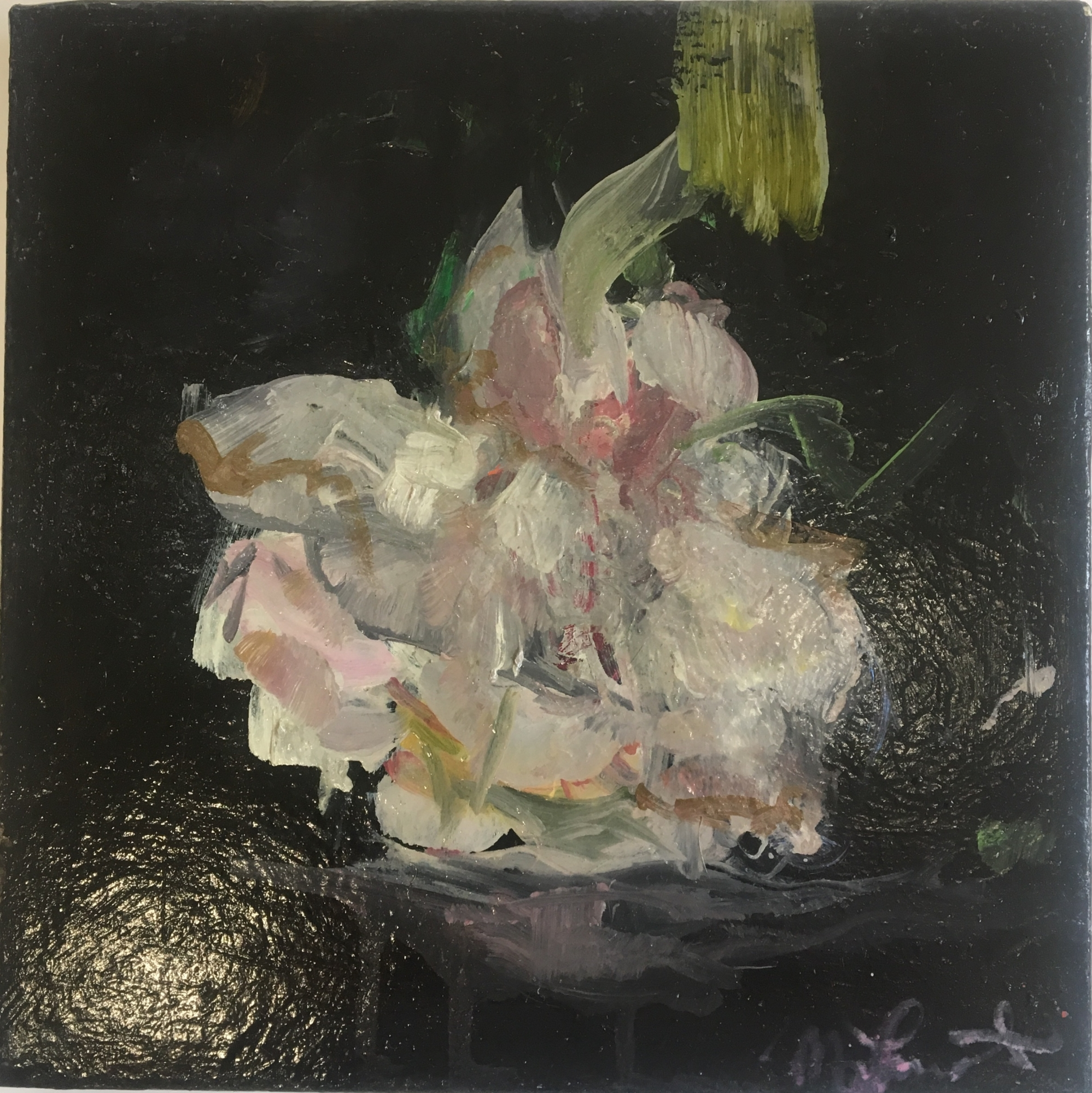 Lacquered Floral  by Madeleine Lamont