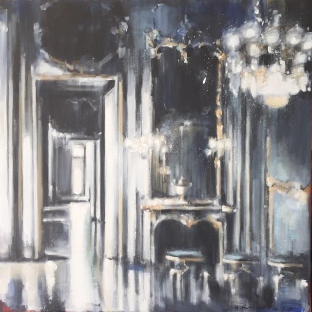 Gilded Mirror  by Hanna Ruminski
