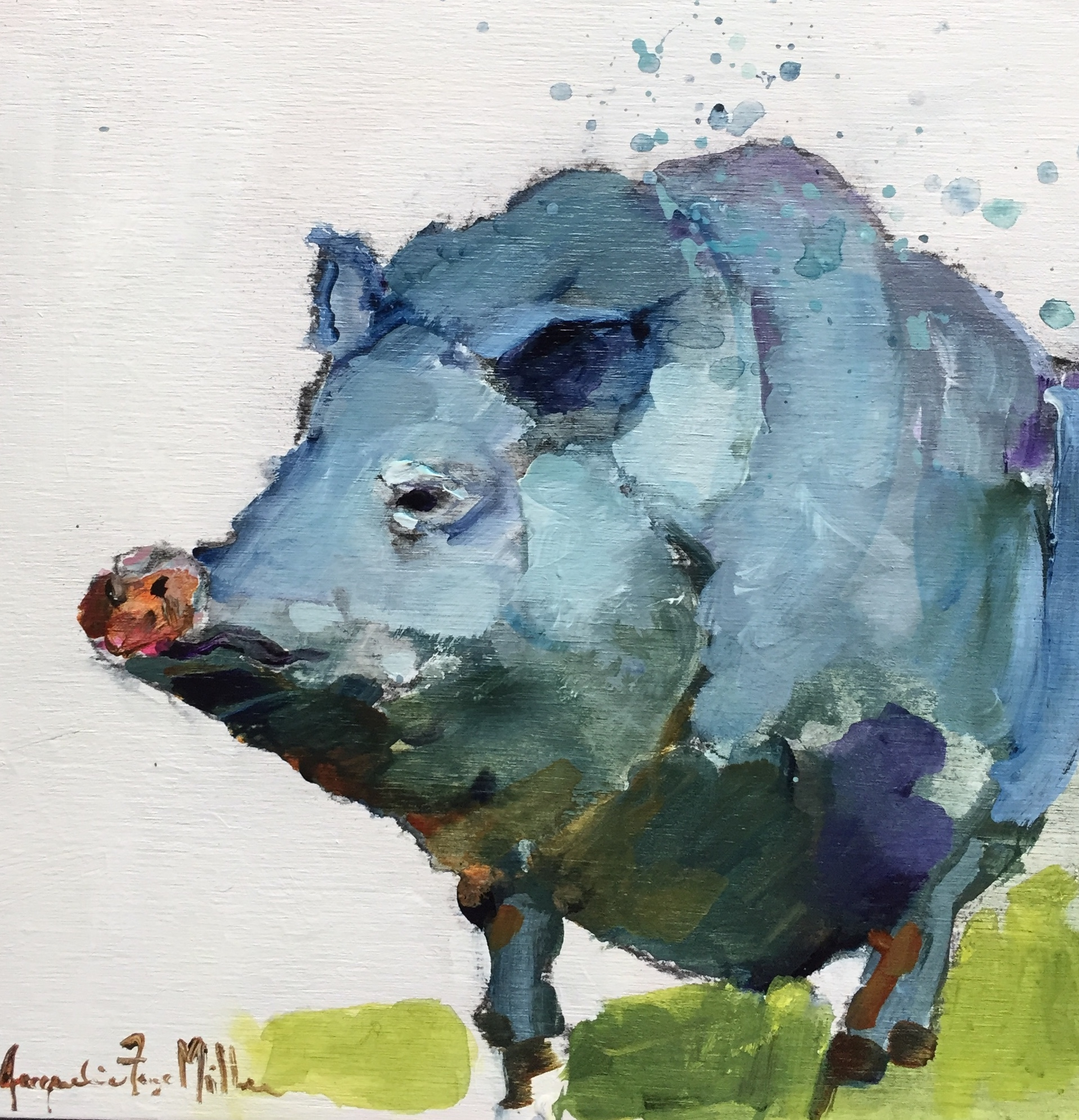 Hey Blue  by Jackie  Miller