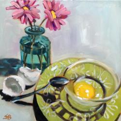 Sonja  Brown  - Green Plates 4
