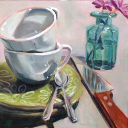 Sonja  Brown  - Green Plates 5