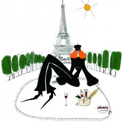 Annie  Naranian  - Parisian Picnic