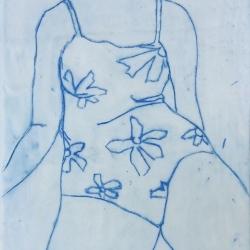 Julie Davidson Smith - Seated Swimmer 1