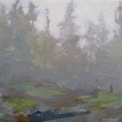 Maria  Josenhans - Fog at the End of the Inlet