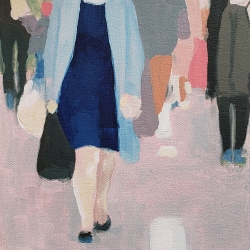 Sherry  Czekus  - Pedestrians on Broadway