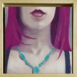 Greg Nordoff - Magenta and Turquoise 2