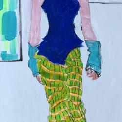 Diane Lingenfelter - Runway 1: Black Boots