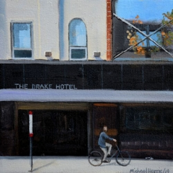 Michael Harris - Riding on the sidewalk, Queen Street West
