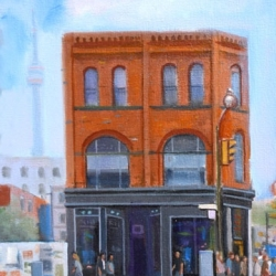 Michael Harris - Muggy Afternoon, Queen Street West