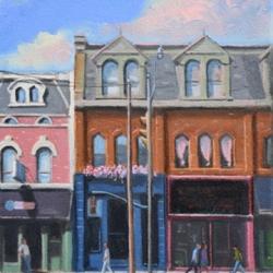 Michael Harris - Pink Clouds Above Queen Street