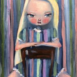 Kate Domina - Candy Striped Wallflower