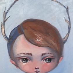 Kate Domina - Robin Egg Antlers