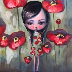 Kate Domina - Rouge Wallflower