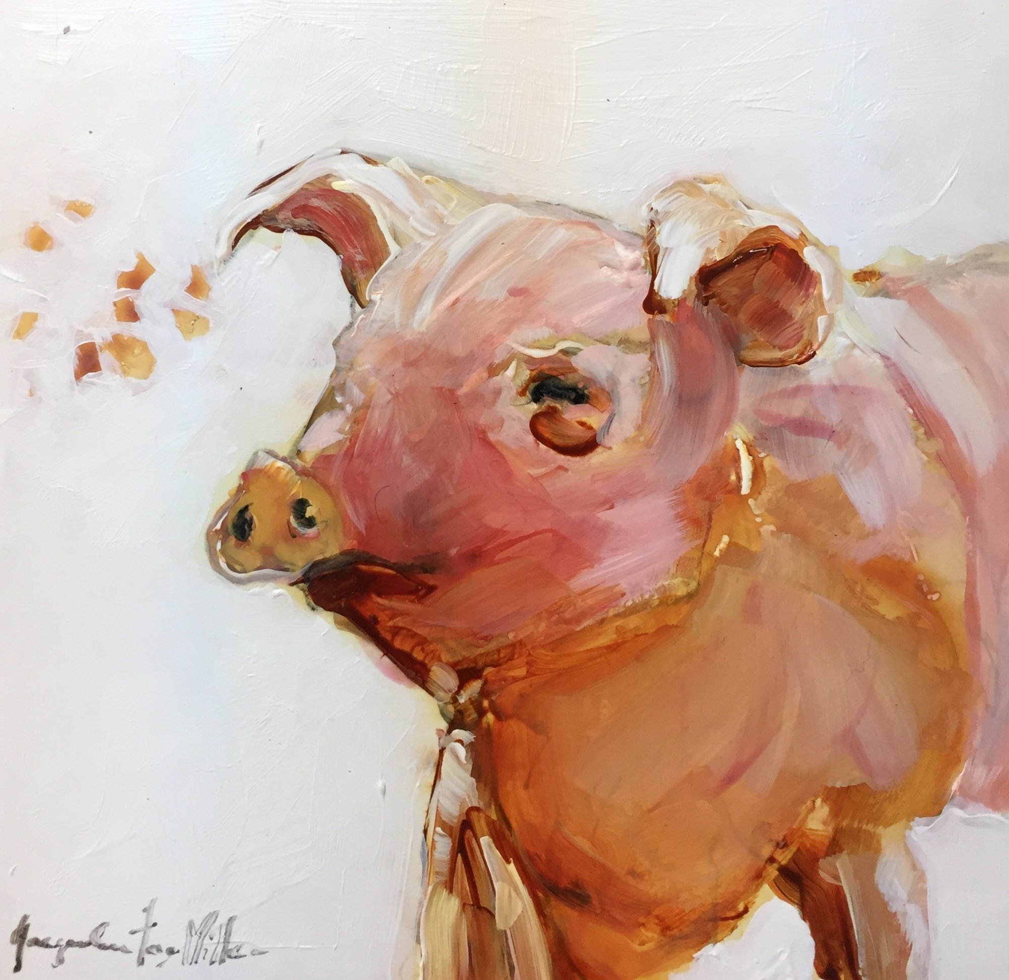 The Blissful Piggy  by Jackie  Miller