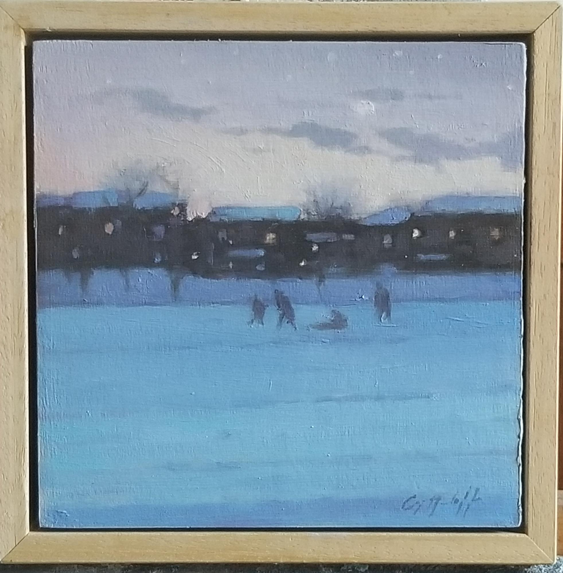 January Dusk by Greg Nordoff