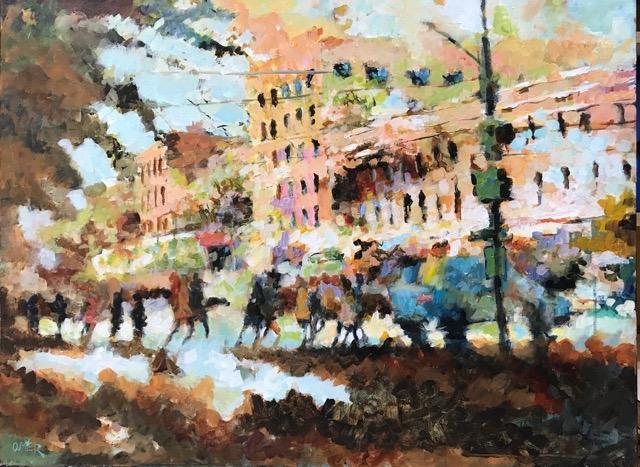 Toronto Rush Hour  by Masood Omer