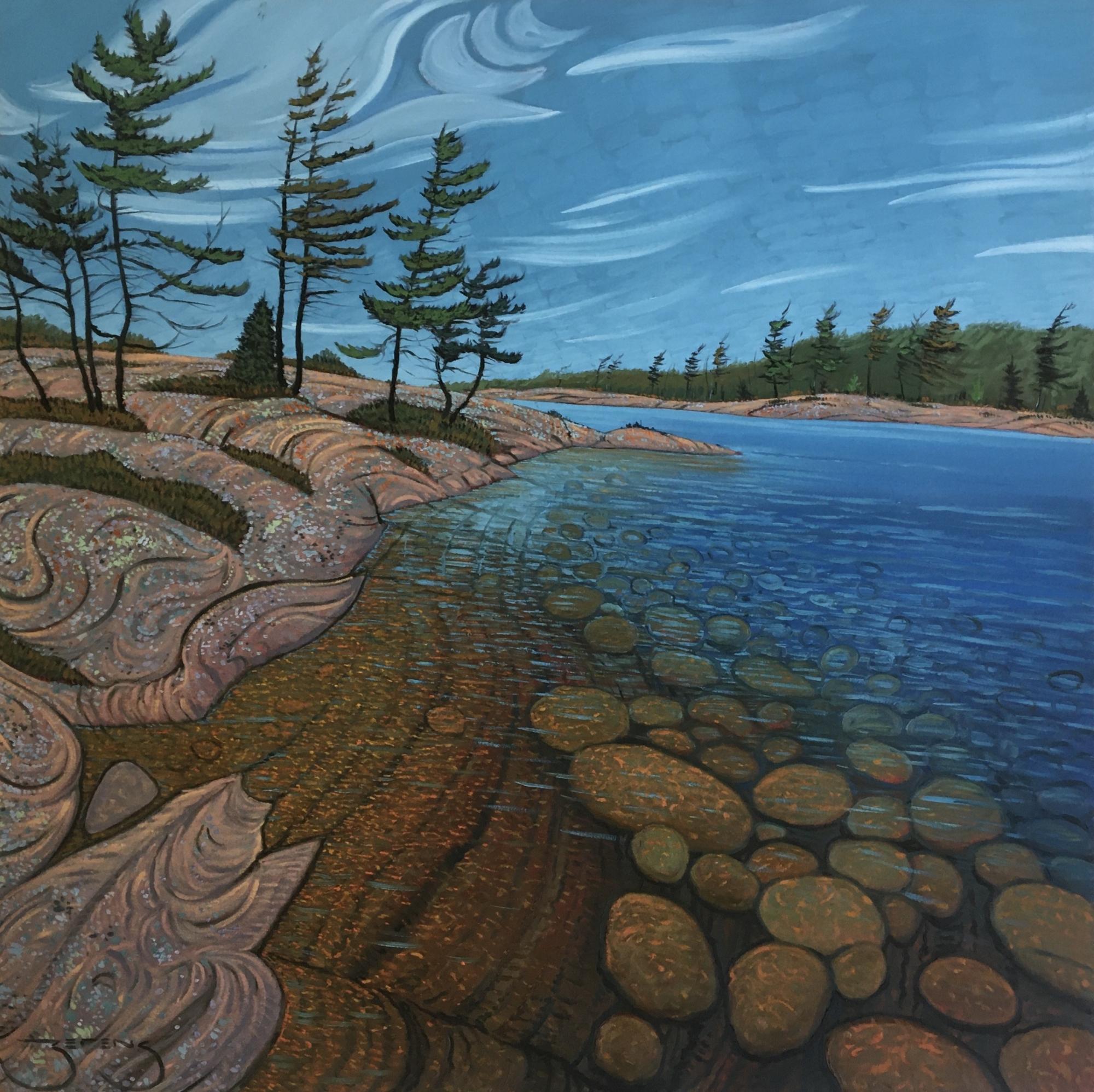 Winkler Island Pines by Mark Berens