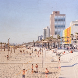 Patrick Lajoie - Tel Aviv Promenade (rectangle)