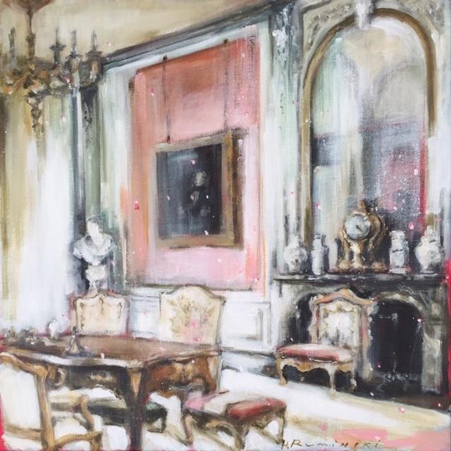 French Chateau 7/ 04.20  by Hanna Ruminski