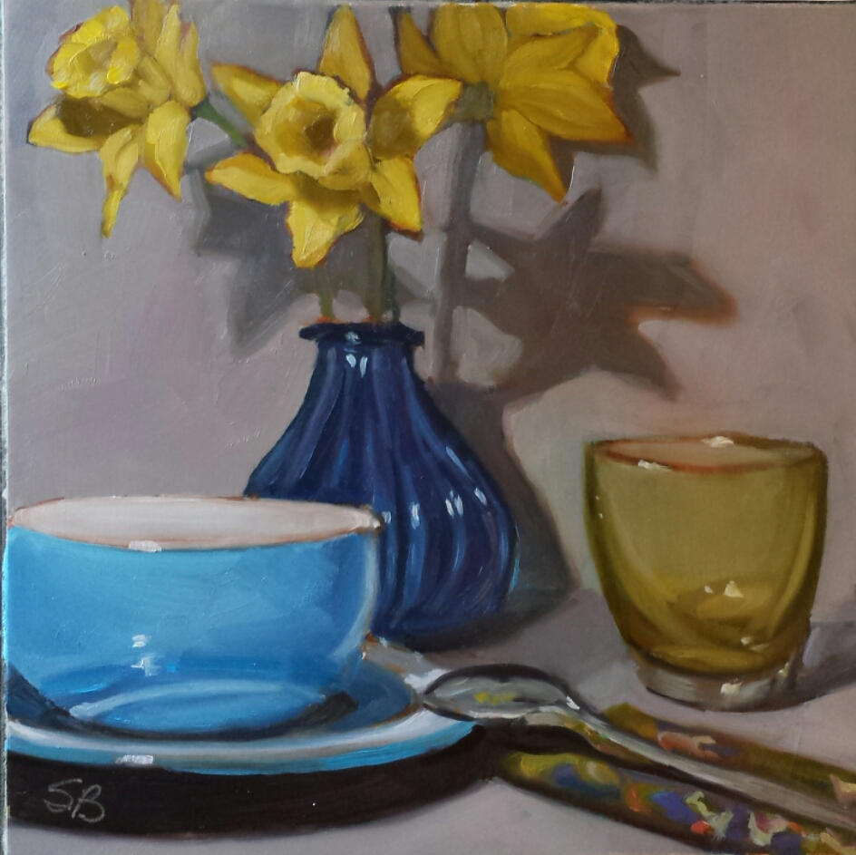 Daffodils 5  by Sonja  Brown