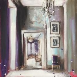 Hanna Ruminski - Parisian Apartment in Purple