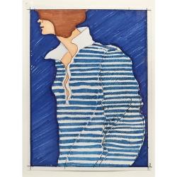 J. Joel - Blue on Blue (study)