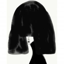 Annie  Naranian  - Cheveux Noir