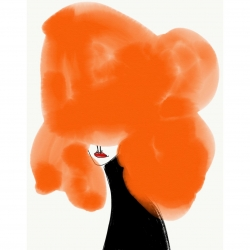 Annie  Naranian  - Cheveux Orange