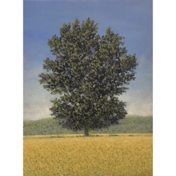 Richard Herman - Tree with Clear Blue Sky