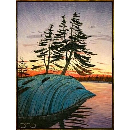 Muskoka Pine  by Mark Berens