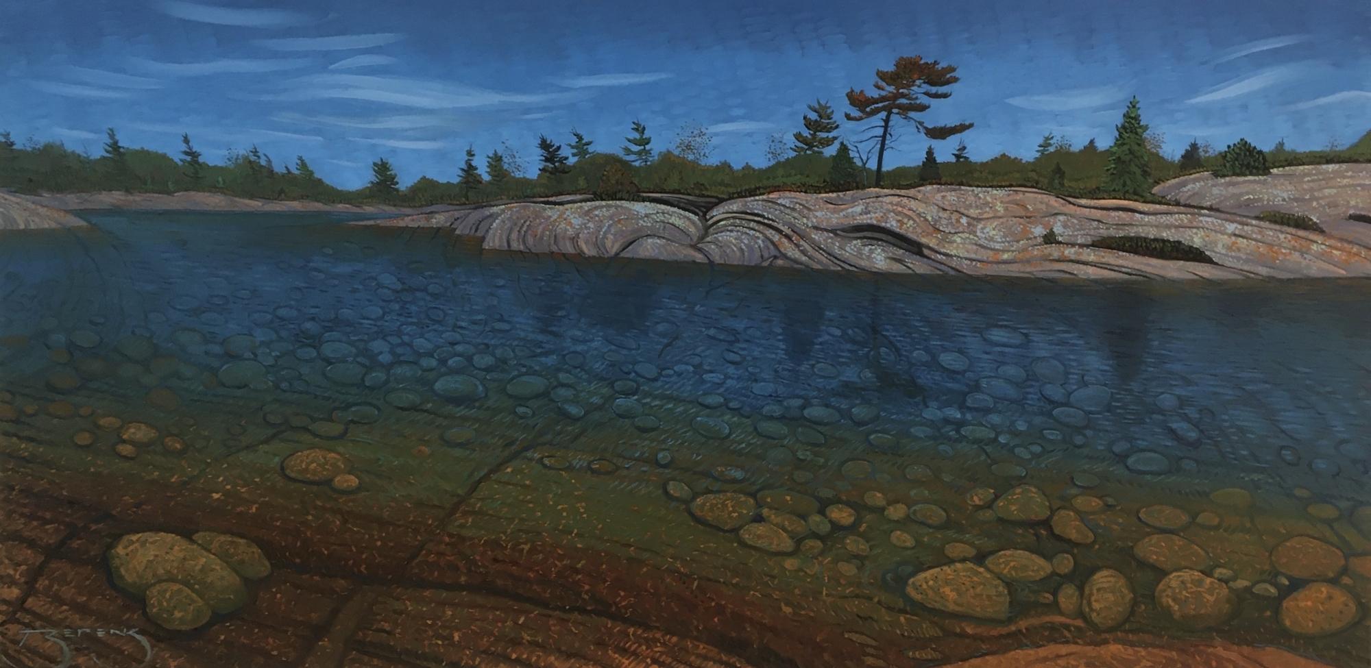 Lightening Pine Panoramic by Mark Berens